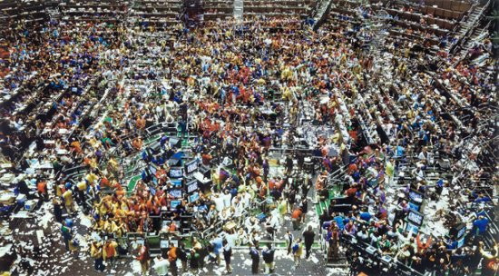 Chicago, Board of Trade II, Andreas Gursky, 1999, Photo: © Tate, London, 2013