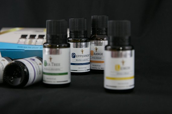 Labels for essential oils