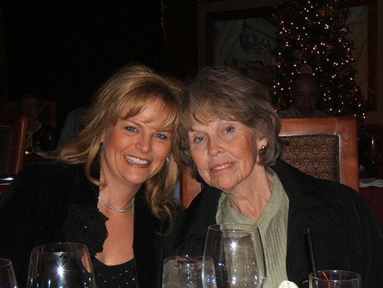 Dr. Hager and her Aunt Lou