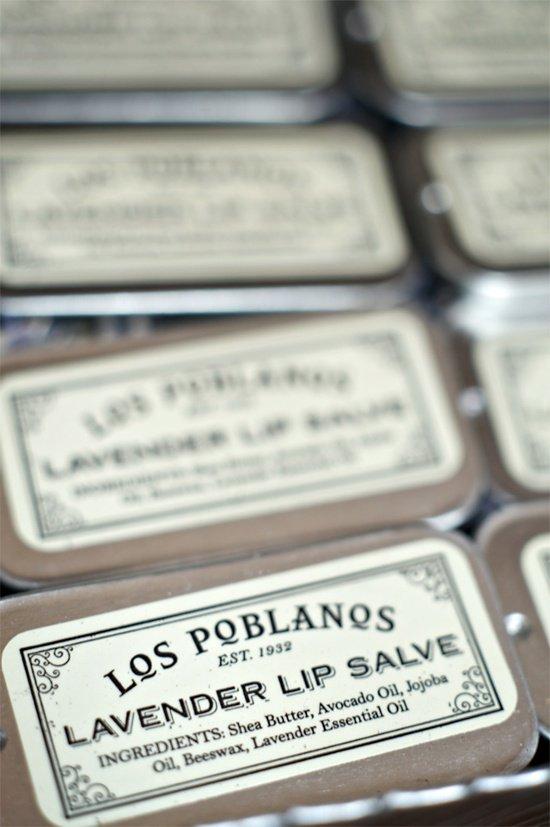 Los Poblanos Lavender Lip Salve