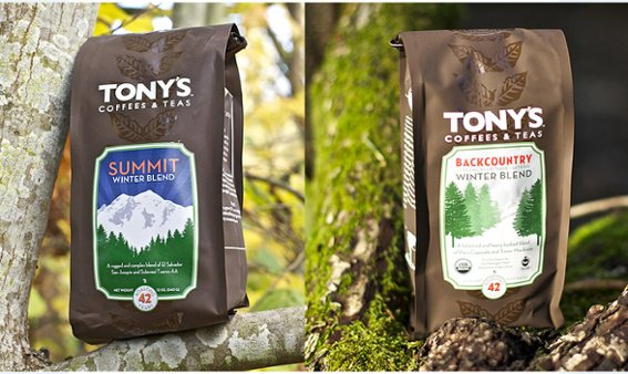 Winter Blend Coffee from Tony's