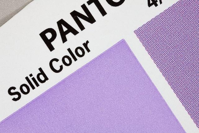 Pantone solid color vs 4 color process