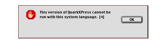 Please don't use QuarkXPress