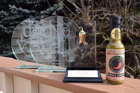 SeaFire Gourmet Chili Pepper Awards