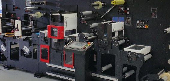 New Advanced labels NW finishing press