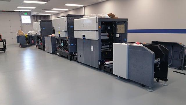 HP Indigo 8000 nearly complete