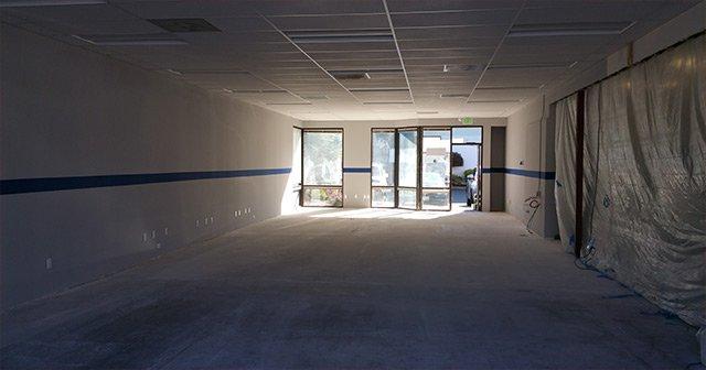 HP 8000 press room in progress