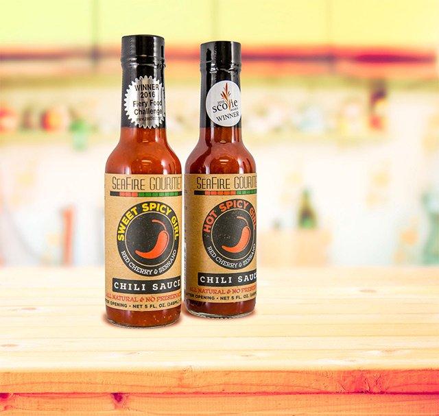 SeaFire Gourmet Chili Sauce, food labels