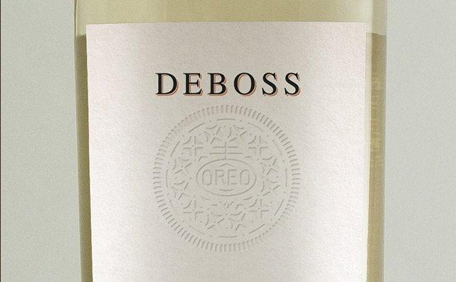 label-deboss