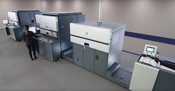 HP Indigo 8000 Digital Press – Advanced Labels NW