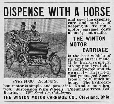 Worlds First Newspaper Ad