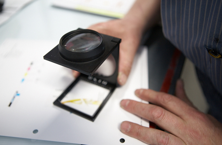 Quality control measures for product label printing