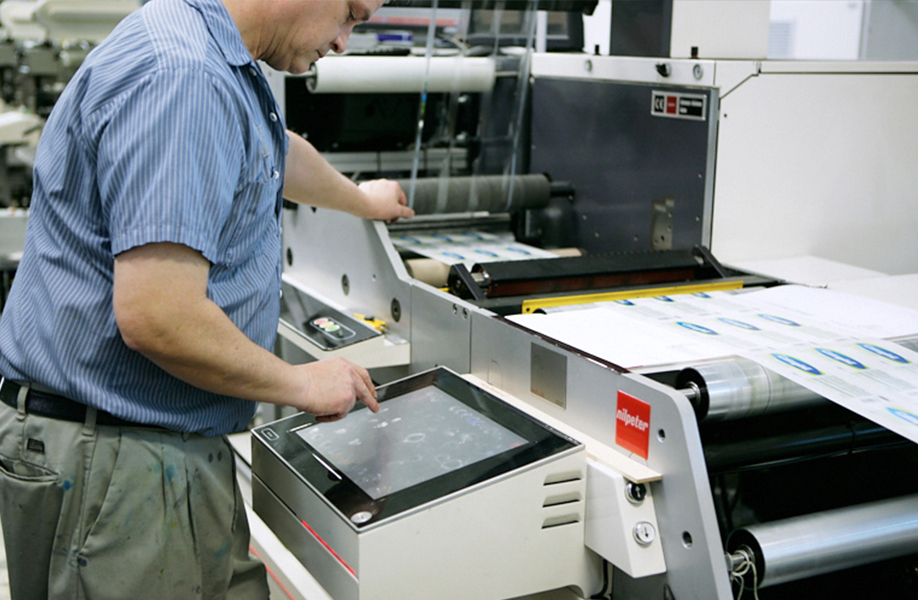 Quality control measures for label printing