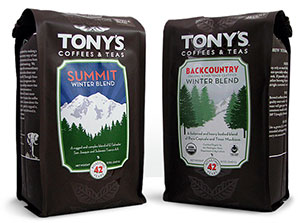 custom coffee bag labels