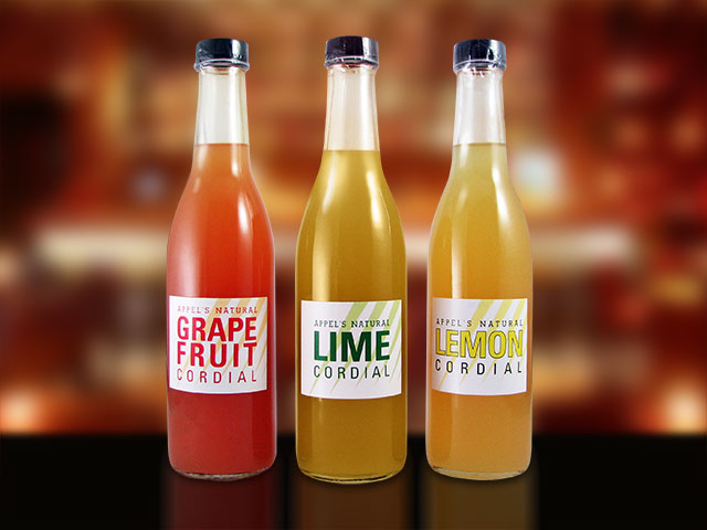 Custom beverage labels in full color