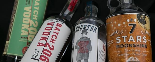 Distilled spirits labels