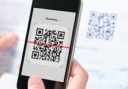 Custom QR Code Label Products