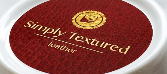 Simply Textured™ red leather texture