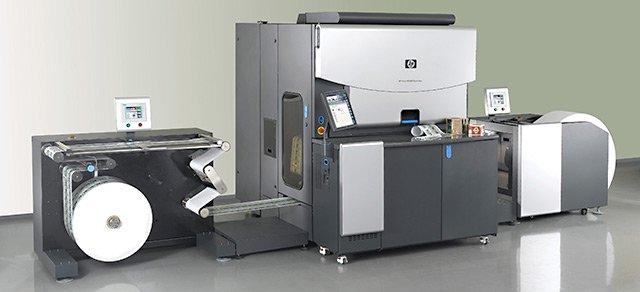 HP Indigo Digital Label Press