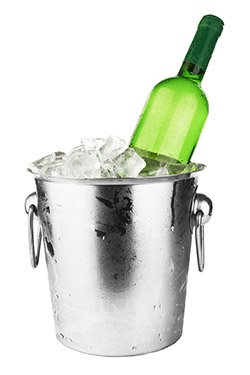 Ice bucket labels