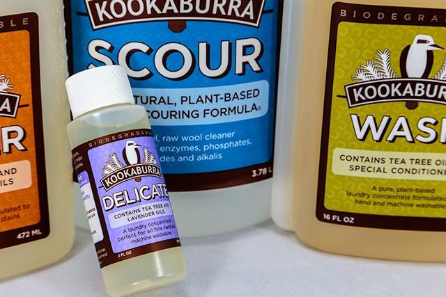 Kookaburra adhesive cleaning labels
