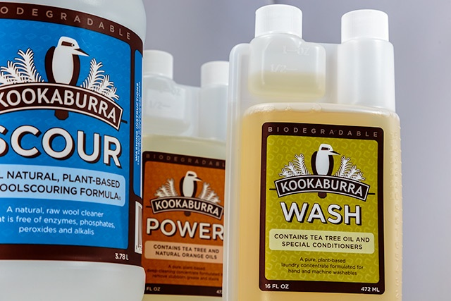 Kookaburra custom labels for cleaning products