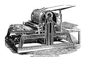 Lithographic press