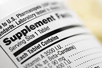 supplement label regulations