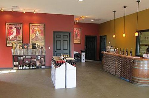 Sleight of Hand Cellars wine tasting room