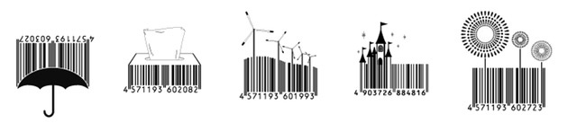 Vanity barcodes for labels